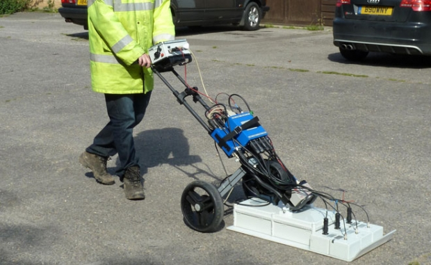 UTILITY DETECTION WITH GROUNDVUE 3